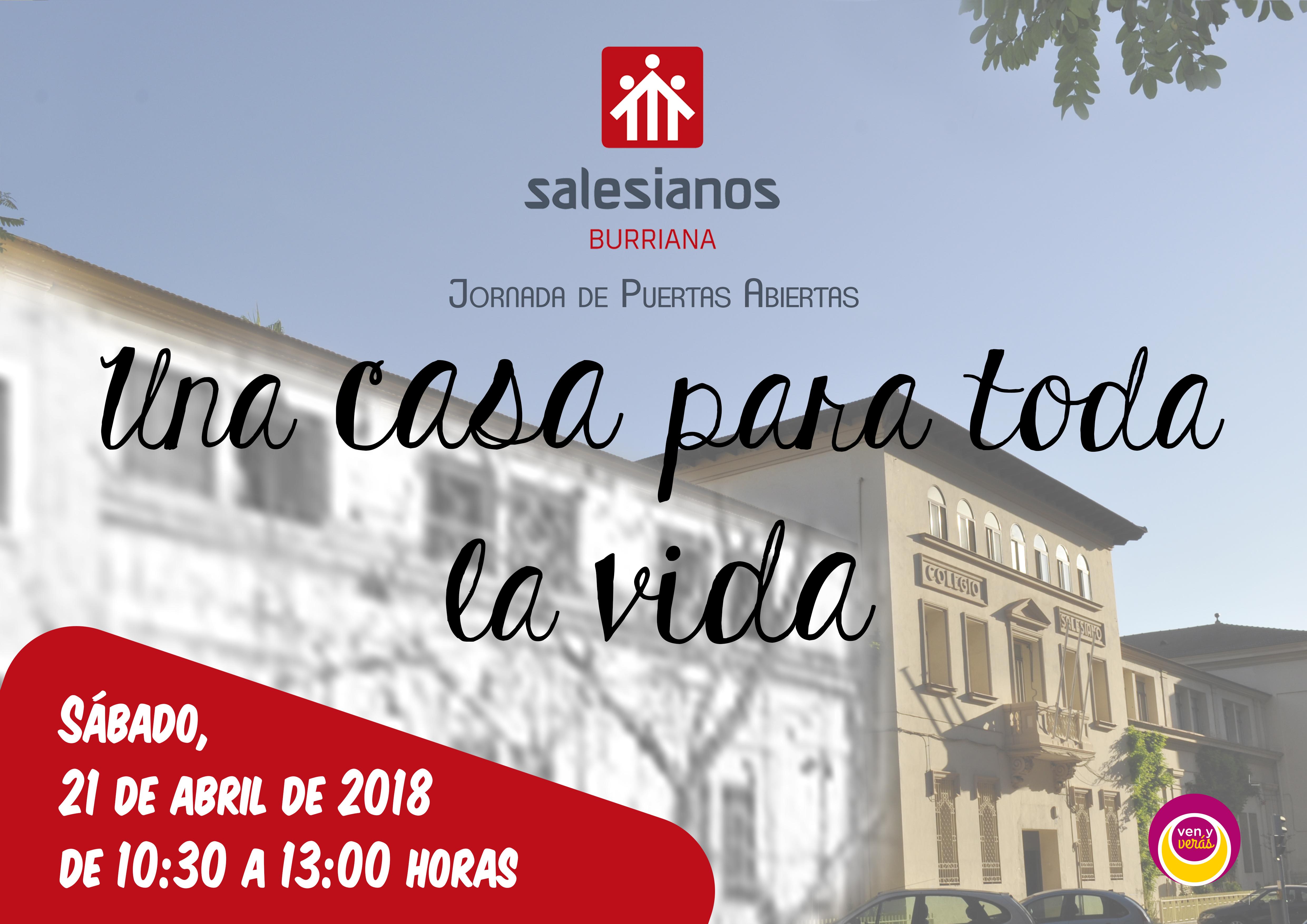 """Salesianos Burriana abre sus puertas el sábado con la jornada """"Una casa para toda la vida"""""""