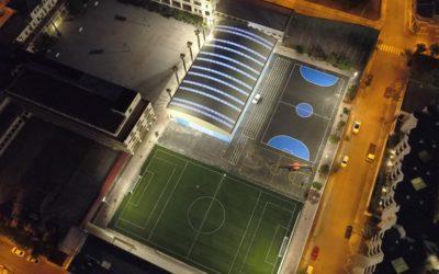 Salesianos Burriana inaugura el próximo  lunes las nuevas pistas deportivas