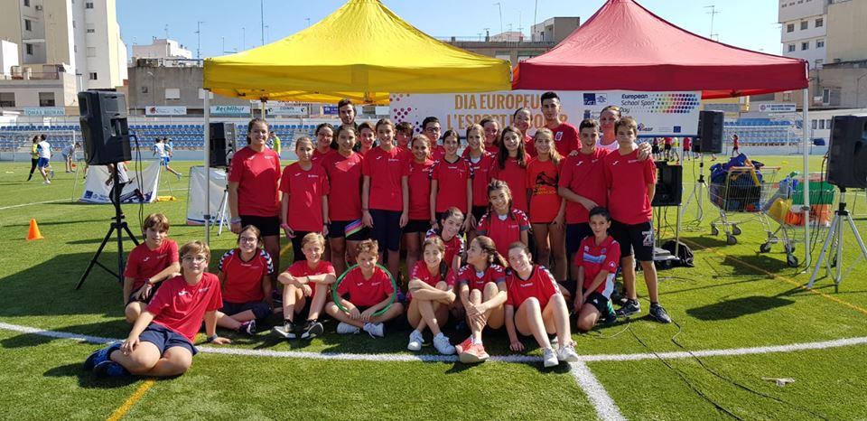 Los alumnos de primaria y ESO participan en la Semana del Deporte