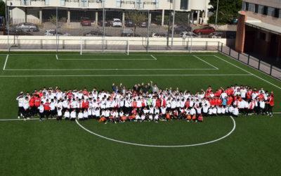 El CD Salesianos Burriana presenta a sus equipos en su nuevo campo